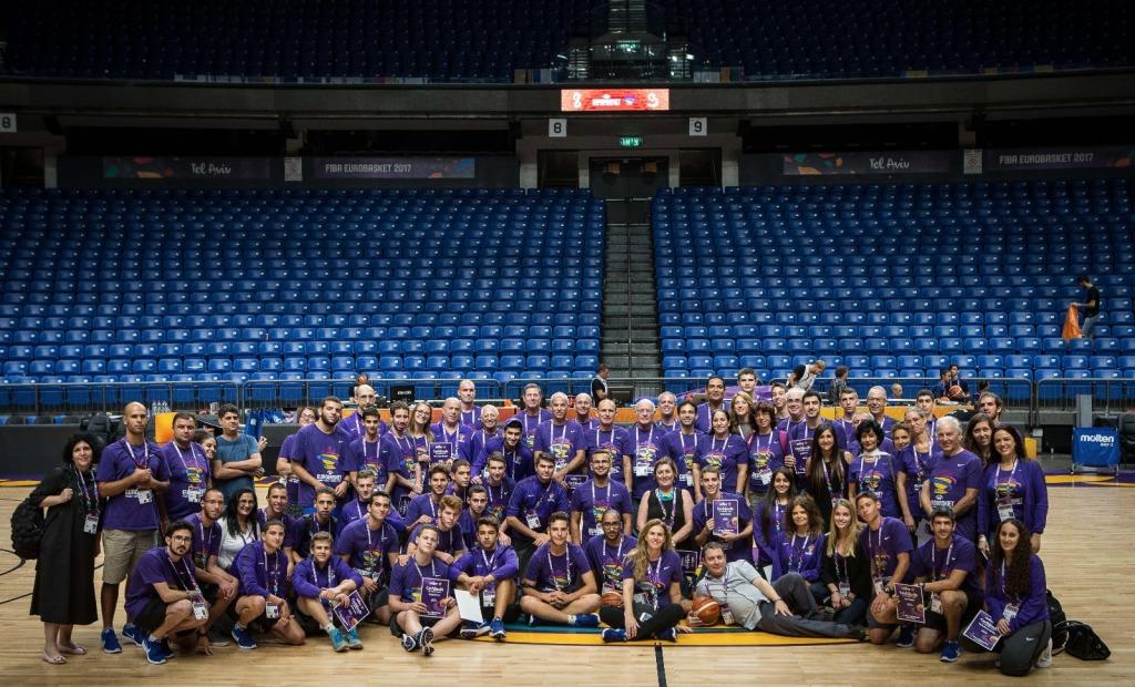 מתנדבי היורובאסקט - חוויה בלתי נשכחת